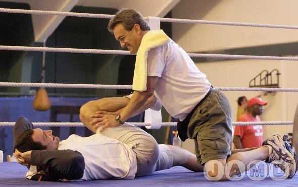 Подготовка Владимира Кличко к бою