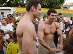 Братья Кличко в Бразилии
