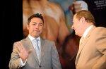 ФОТО: Пресс-конференция Пакьяо - Хаттон в Лас-Вегасе