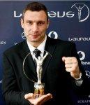 Фото-репортаж: Виталий Кличко получил премию Laureus Sports Award 2009