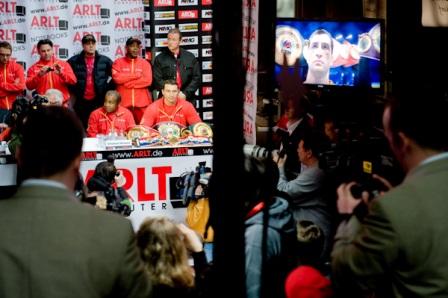 Пресс-конференция Владимира Кличко и Эдди Чемберса. Фото
