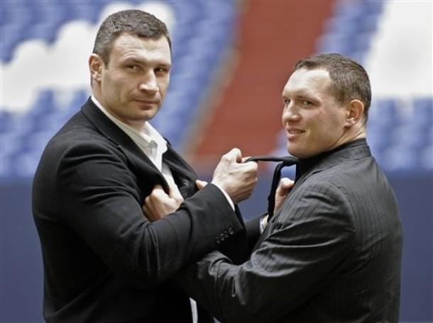 Пресс-конференция Кличко-Сосновский