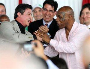 Тайсон, Чавес, Цзю, Сталлоне в Зале славы