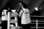 Владимир Кличко на тренировочных сборах