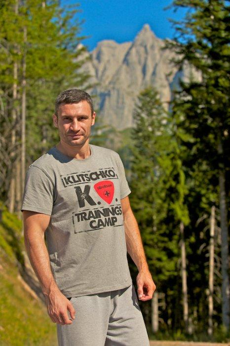 Фоторепортаж: Заканчивается подготовительный период Виталия Кличко