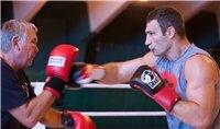 Фоторепортаж: Последний день в тренировочном лагере Виталия Кличко