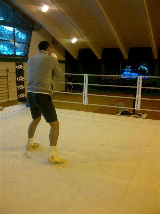 Кадр дня: Владимир Кличко в тренировочном лагере
