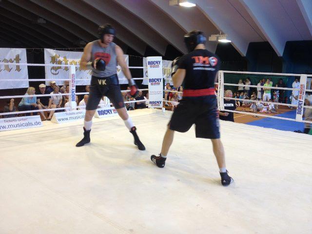 Подготовка Виталия Кличко к бою с Чарром